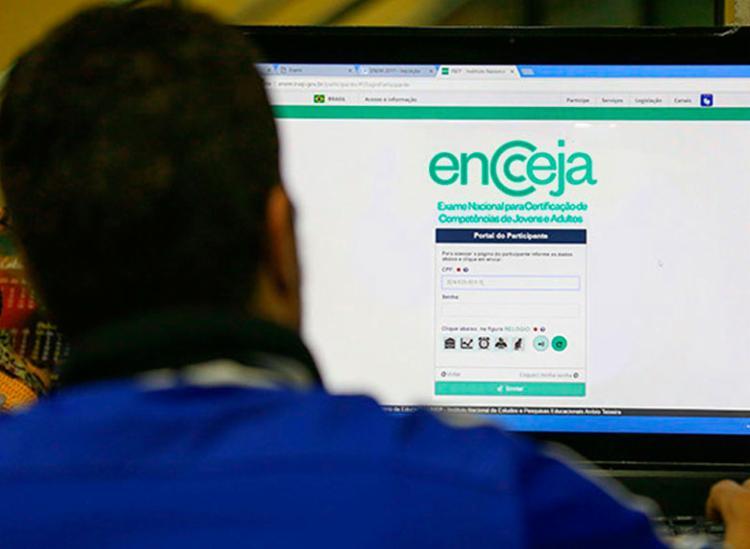 Inscrições devem ser feitas pela internet, no Sistema Encceja - Foto: Divulgação