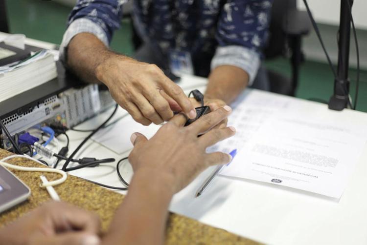 Nova fase do agendamento do cadastramento biométrico pode ser feito pelo 0800 - Foto: Wallace Cardozo | Divulgação