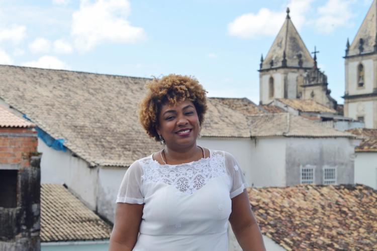 A relações-públicas Renata Dias assumiu a diretoria da Funceb em 2017 - Foto: Shirley Stolze | Ag. A TARDE