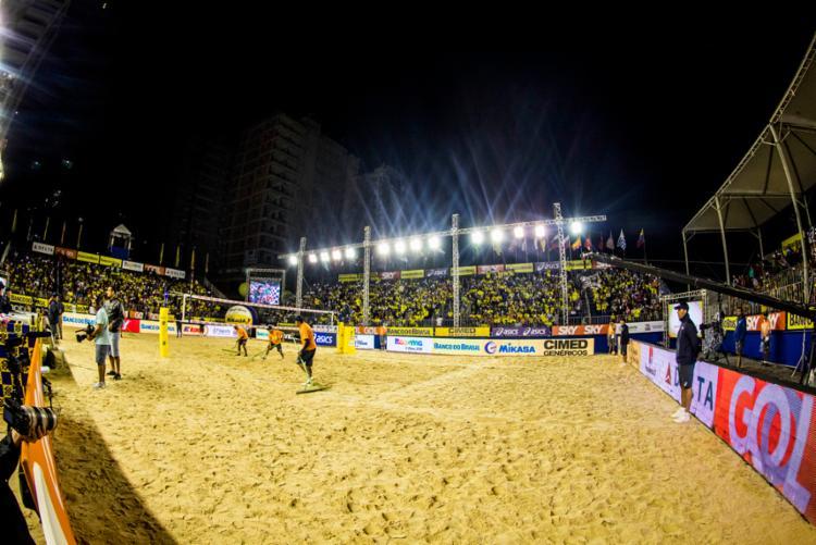 Este será o segundo ano consecutivo em que Itapema recebe a competição - Foto: Divulgação | FIVB