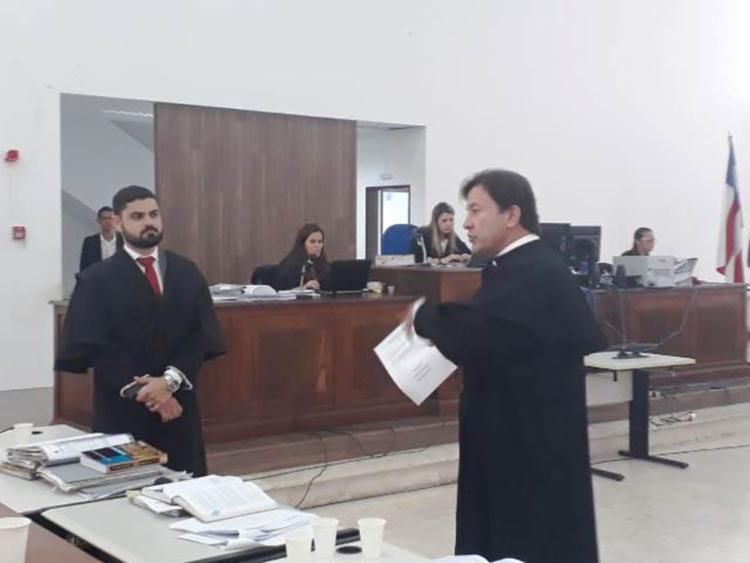 Acusado do crime foi julgado e condenado a seis anos de prisão - Foto: Aldo Matos   Acorda Cidade