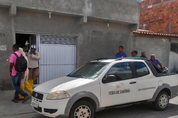 Equipe de bloqueio foi enviado para área para tentar eliminar o foco da dengue