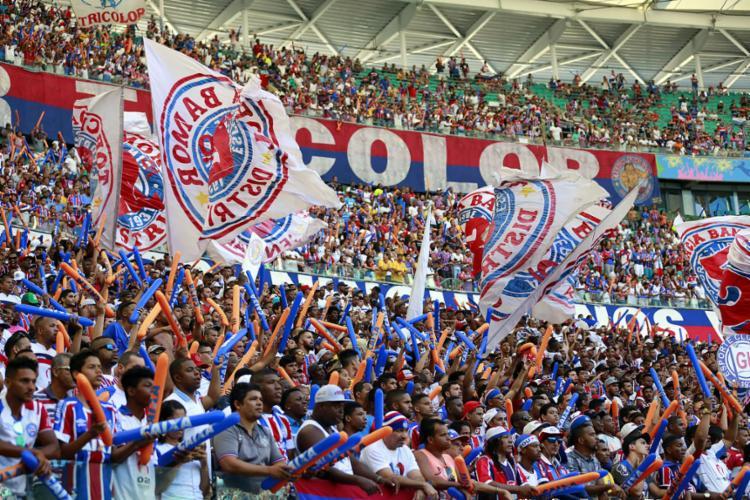 A expectativa do clube é que os torcedores esgotem as entradas para a decisão desta quarta, 29 - Foto: Felipe Oliveira l EC Bahia
