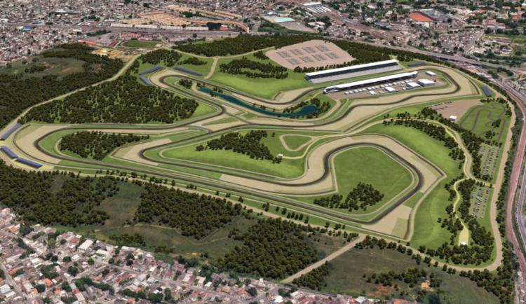 Plano é construir o autódromo em um antigo terreno do Exército, no bairro de Deodoro - Foto: Divulgação