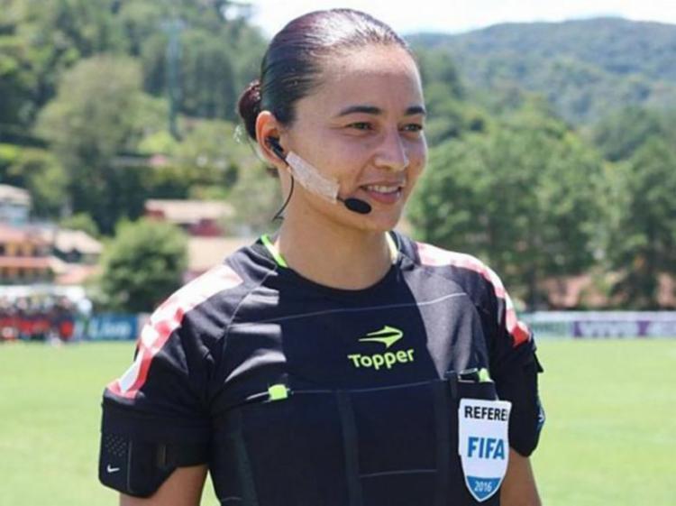 Edina Alves apitará partida entre CSA e Goiás - Foto: Kin Saito | CBF