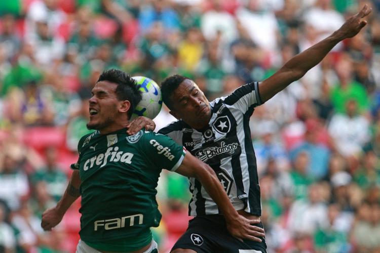 O Botafogo entrou no STJD na última segunda-feira com um pedido para anular o resultado do jogo contra o Palmeiras - Foto: Vítor Silva | Botafogo