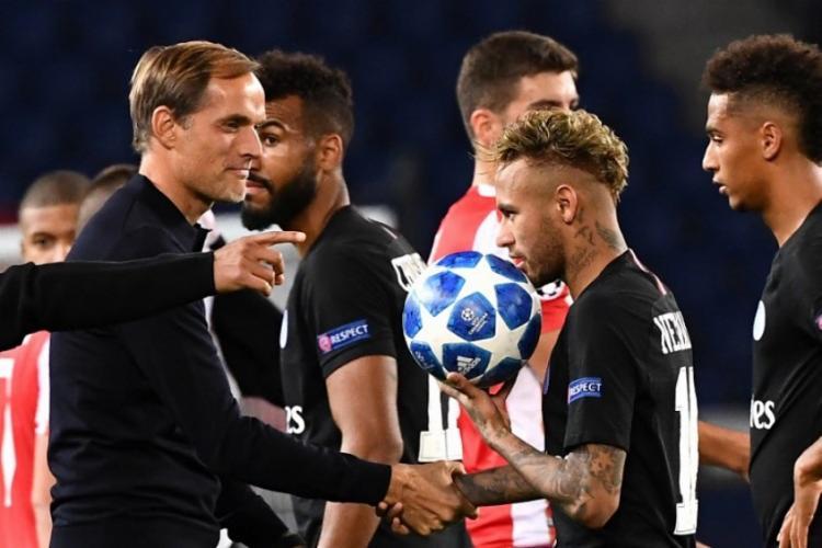 Para Tuchel, Neymar é uma pessoa diferente do que a maioria pensa de fora - Foto: Reprodução   AFP