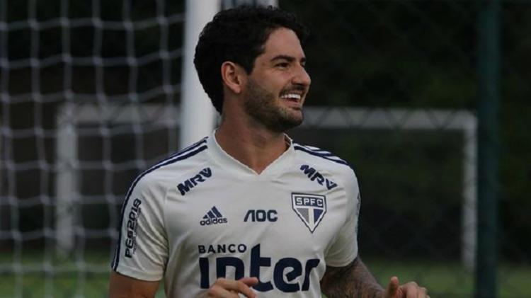 Pato foi desfalque no último jogo, contra o Fortaleza, devido a uma contusão cervical sofrida na partida contra o Flamengo - Foto: Rubens Chiri | São Paulo FC