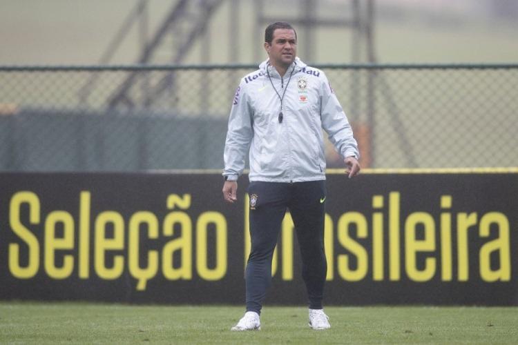 Ao todo, Jardine convocou 22 atletas de até 22 anos para a disputa do Torneio Internacional Maurice Rivello - Foto: Lucas Figueiredo | CBF