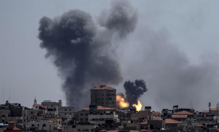 Itamaraty e António Guterres consideram inadmissível os ataques - Foto: Mahmud Hams l AFP