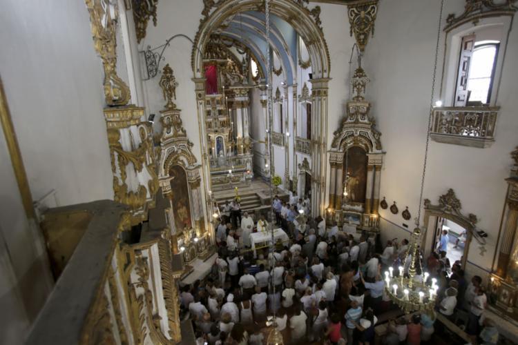 Templo foi requalificado e custo chegou a R$ 1,1 milhão - Foto: Joá Souza l Ag. A TARDE