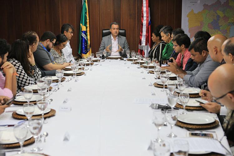 Comentário foi feito durante almoço com jornalistas baianos - Foto: Carol Garcia | GOVBA