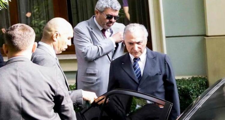 Temer está preso desde quinta-feira, 9, na sede da Polícia Federal - Foto: Aloísio Maurício   Estadão Conteúdo