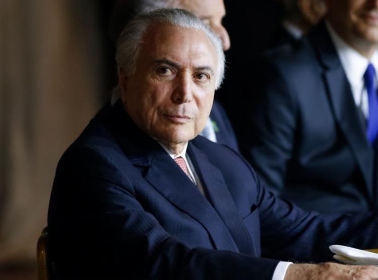 A defesa do ex-presidente apresentou hoje um pedido de habeas corpus no Superior Tribunal de Justiça - Foto: Cesar Itiberê   PR