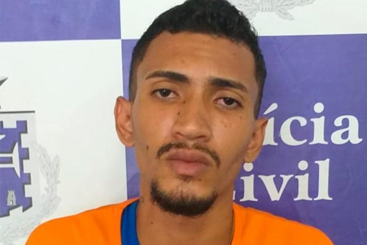 Valter Brito de Jesus teve o mandado de prisão preventiva cumprido na segunda-feira, 13 - Foto: Divulgação | SSP-BA