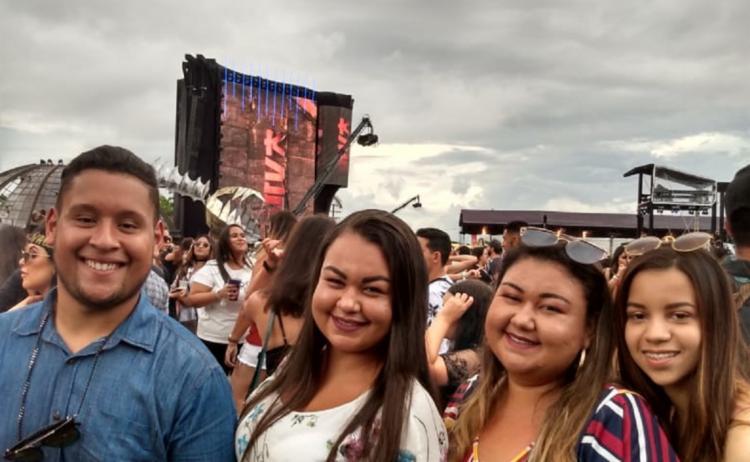 Grupo de fãs vieram de Belo Horizonte