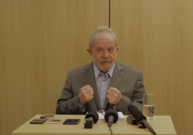 A jornalista, Lula admitiu pela primeira vez aceitar o semiaberto - Foto: Reprodução l TV Uol