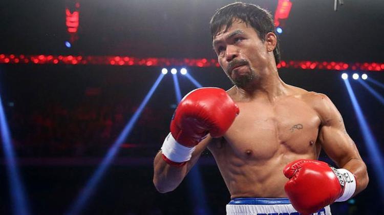 O filipino é apontado pela crítica especializada como um dos melhores boxeadores do século, - Foto: AFP