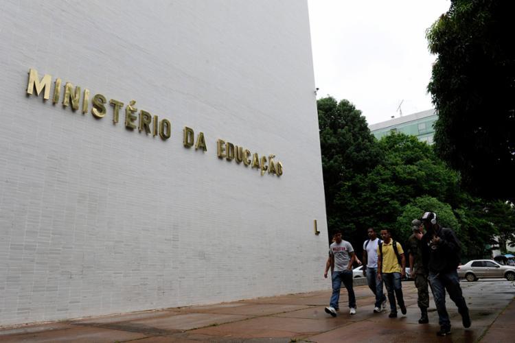 Pasta acumula problemas desde o início da gestão do colombiano Ricardo Vélez Rodríguez - Foto: Marcos Oliveira | Agência Senado