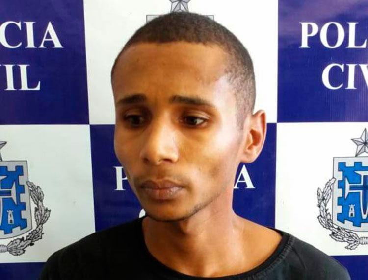 José Augusto estava escondido em conjunto habitacional na cidade - Foto: Divulgação   SSP