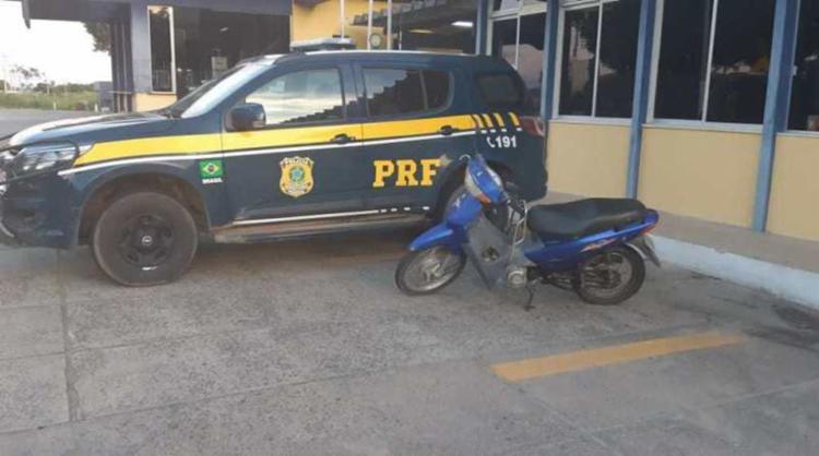 Veículo havia sido roubado conteceu em setembro de 2011 - Foto: Divulgação | PRF-BA