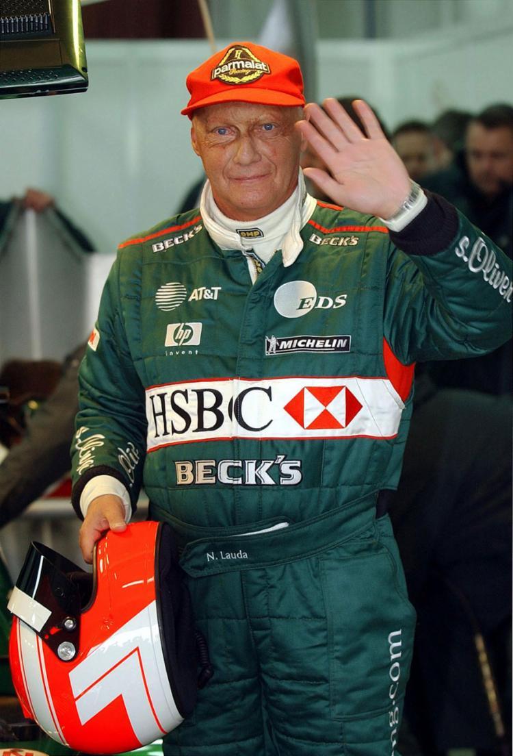 Lauda vinha sofrendo com problemas de saúde há pelo menos um ano - Foto: Pierre-Philippe Marcou l AFP