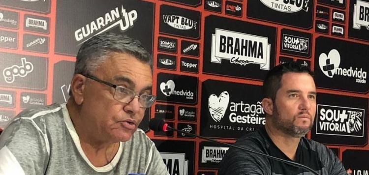 Osmar Loss comentou sobre a utilização dos jogadores de base no elenco profissional - Foto: Divulgação | EC Vitória