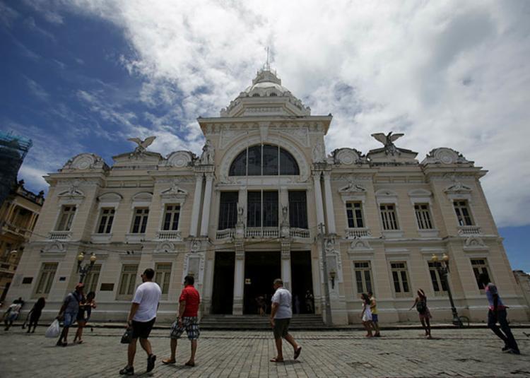 Palácio Rio Branco já foi sede do Governo da Bahia - Foto: Raul Spinassé | Ag. A Tarde