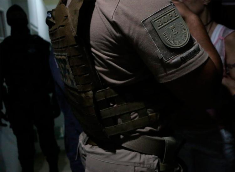 Agentes do Bope foram acionados após situação se agravar no local - Foto: Divulgação | SSP