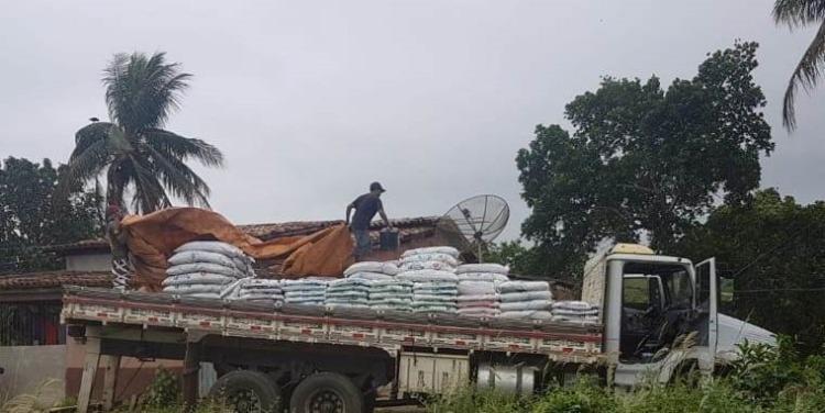 O carregamento foi roubado no município de Potiraguá, no último dia 9 - Foto: Divulgação | Polícia Civil