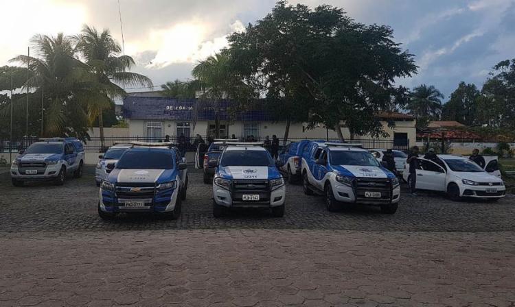 Ao todo, cerca de 222 mandados de prisão foram cumpridos no estado - Foto: Divulgação l Polícia Civil