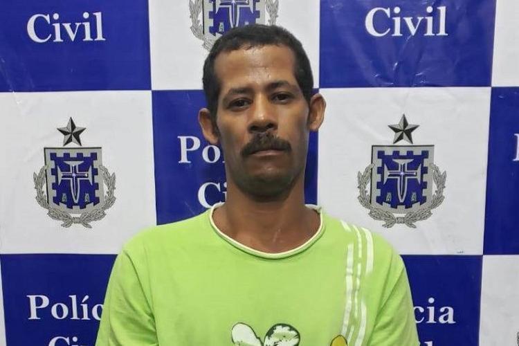 Cosme Santana Nunes foi capturado na quarta-feira, 1º - Foto: Divulgação | Polícia Civil-BA