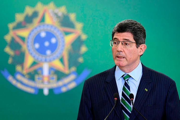 declaração foi dada por Joaquim Levy durante evento em São Paulo - Foto: Evaristo Sa   AFP
