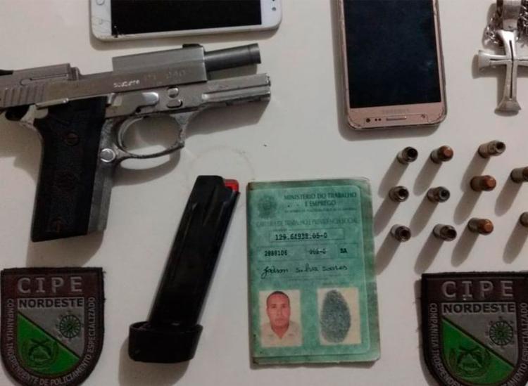 Material foi encontrado com suspeito | Foto: Divulgação | SSP-BA