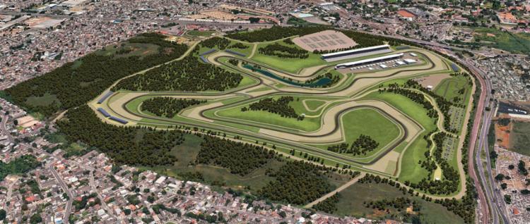 Projeto do Autódromo em Deodoro - Foto: Reprodução