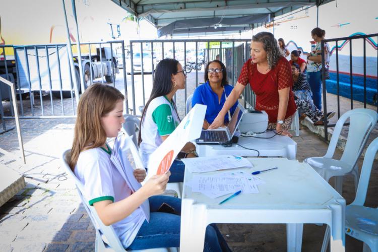 Ação conta com cerca de cinco mil atendimentos - Foto: Lídia Muradás l Divulgação