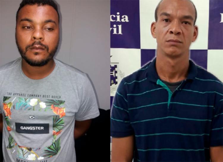 Jesiel Miranda Campos, o Bolo, e Carlos Henrique Santos Silva, o Cumpadre, são suspeitos de cometer mais de 13 homicídios - Foto: Divulgação   SSP-BA