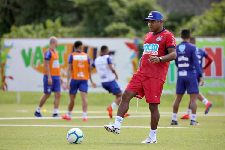 Mesmo com só um treino, Tricolor precisa corrigir falhas e melhorar contra o Leão - Foto: Felipe Oliveira l EC Bahia