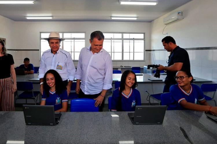 Investimento da escola foi no valor de R$ R$ 3,4 milhões - Foto: Paula Fróes | GOVBA