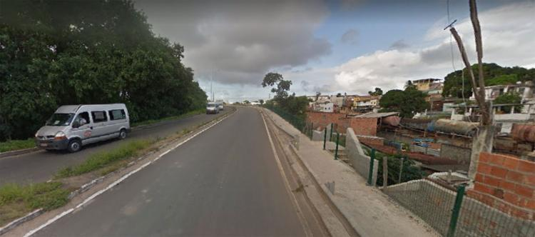 O crime ocorreu no início da tarde deste sábado - Foto: Reprodução   Google Street View