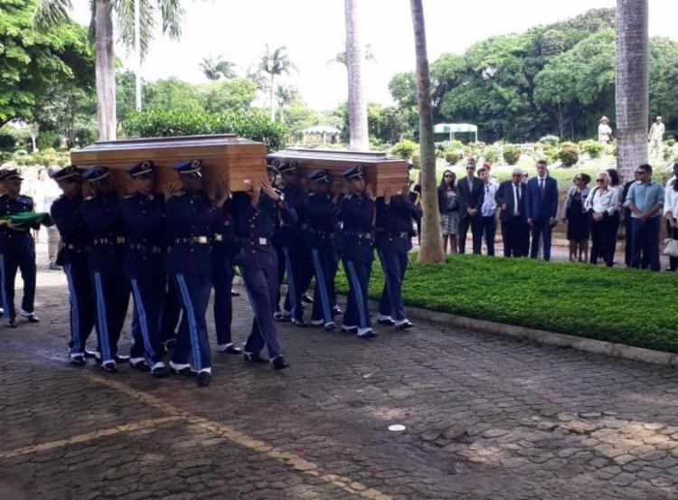 Durante a cerimônia houve homenagem da a Marinha e Aeronáutica - Foto: Luan Borges | Ag. A TARDE