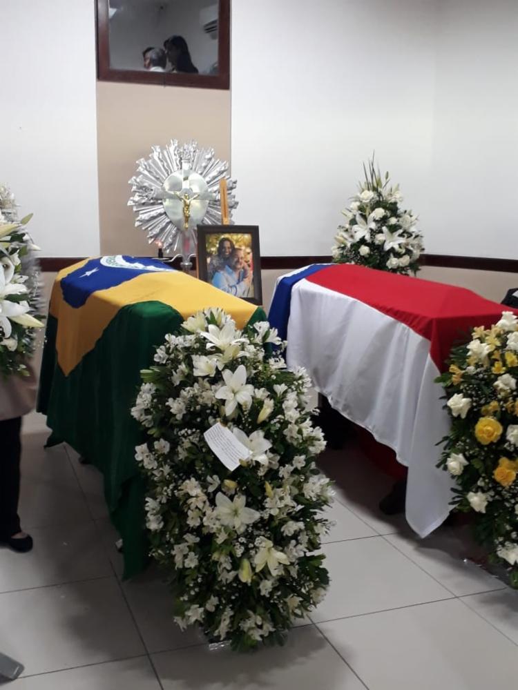 O casal morreu no dia 8 de maio, durante um acidente de trânsito, na Itália