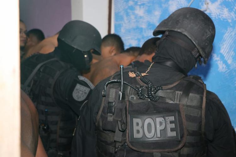 O Bope, responsável por ocorrências com reféns, foi acionado