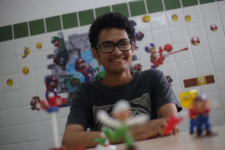 Samuel cursa graduação em jogos - Foto: Raphael Müller l Ag. A TARDE