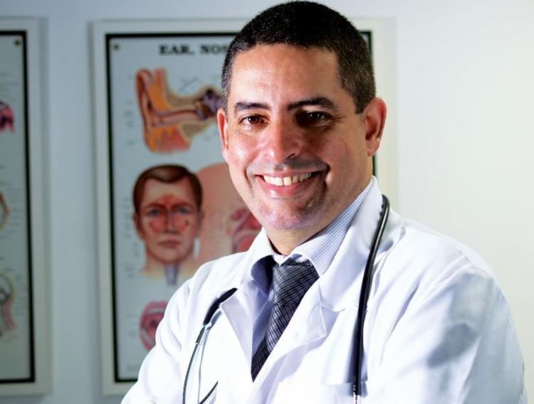 Marcos Borba é médico especializado em cirurgia de cabeça e pescoço | Foto: Divulgação