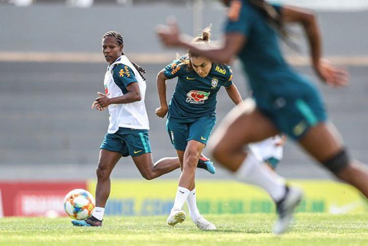 A preparação da seleção brasileira em Portugal vai até o dia 5 de junho - Foto: Divulgação l CBF