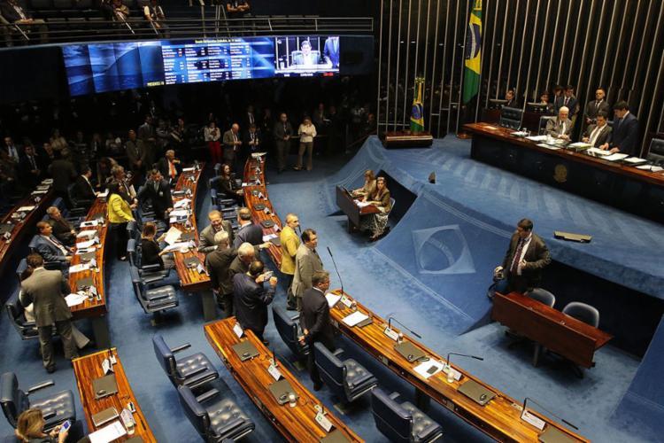 Parlamentares reclamaram de pouco tempo para análise dos textos - Foto: Fabio Rodrigues Pozzebom l Agência Brasil