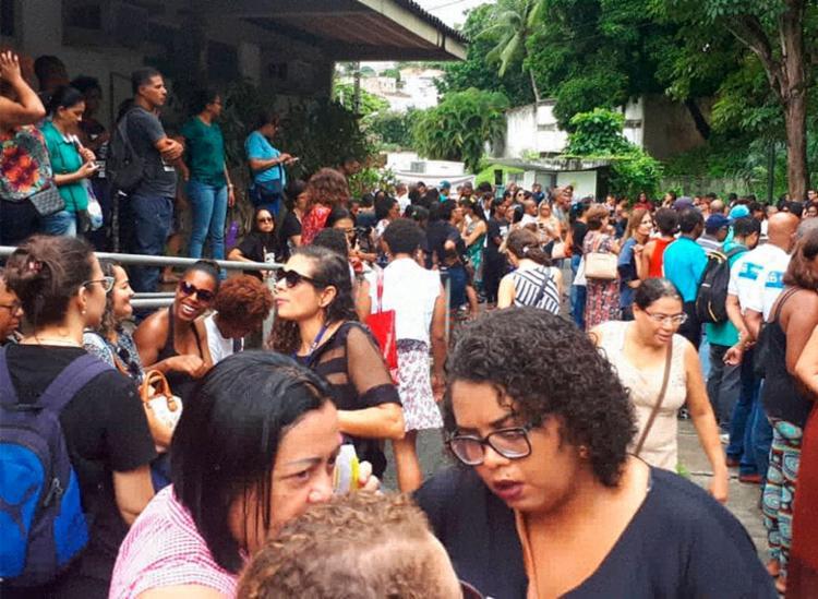 Servidores reivindicam reajuste salarial na ordem de 13,34% - Foto: Divulgação   Sindseps