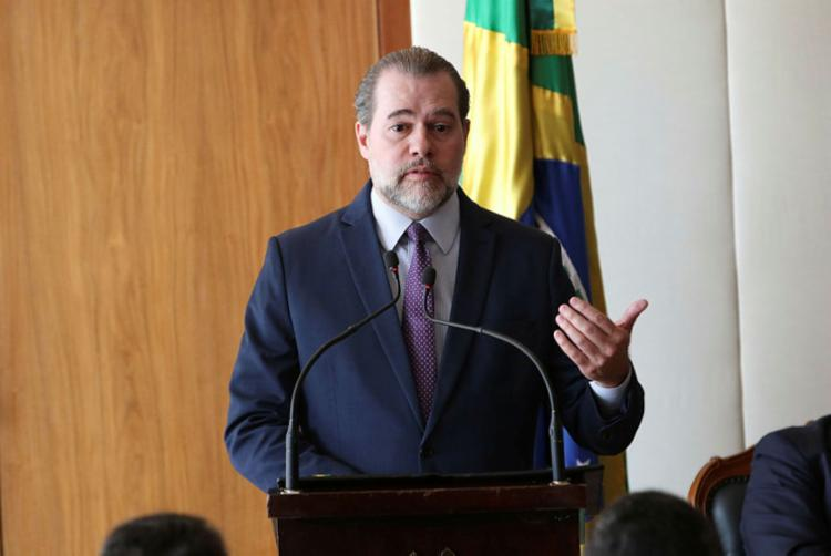 O presidente do STF, ministro Dias Toffoli, marcou para o dia 12 de junho o julgamento - Foto: Fabio Rodrigues Pozzebom | Agência Brasil