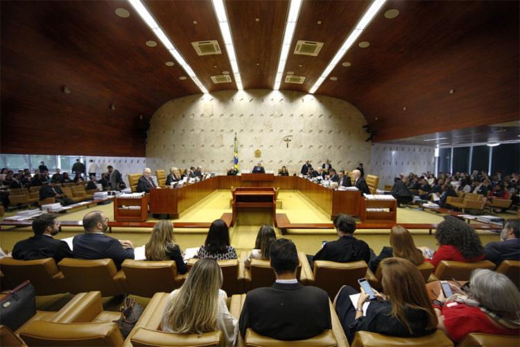 O julgamento foi suspenso e será retomado no dia 5 de junho - Foto: Rosinei Coutinho l STF
